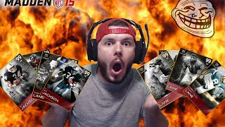 THE GREATEST LINEUP IN MADDEN 15 HISTORY #TROLLSQUAD | Madden 15 Ultimate Team | INSANE OMFGGG