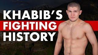 Khabib Nurmagomedov's Combat Sport History