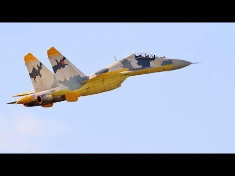 "GIANT 1/6 SCALE RC CARF SUKHOI SU-27 ""FLANKER"" - TWIN TURBINE COLD WAR FIGHTER # 3 - 2018"