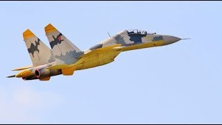 """GIANT 1/6 SCALE RC CARF SUKHOI SU-27 """"FLANKER"""" - TWIN TURBINE COLD WAR FIGHTER # 3 - 2018"""