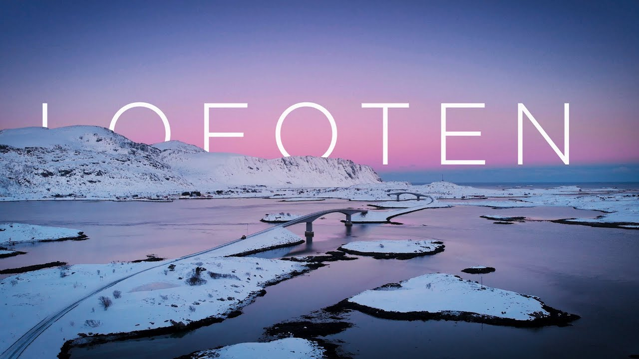 Epic LOFOTEN - 4K drone movie (Dji MAVIC Air)
