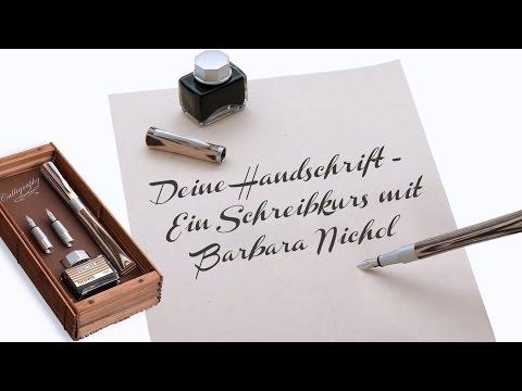Deine Handschrift - Ein Schreibkurs mit Barbara Nichol