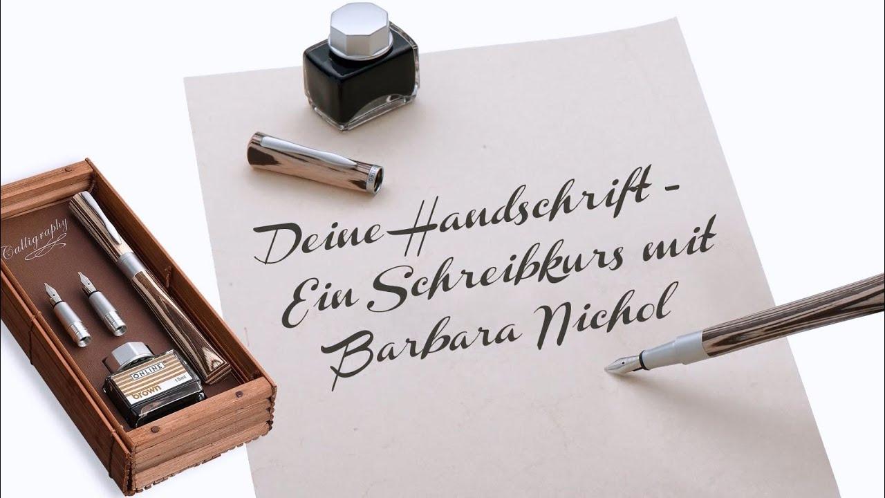 Schlechte handschrift verbessern