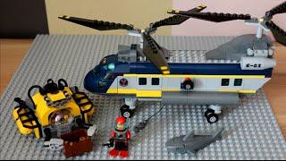 Lego City - Helicopter sea explorers,60093/ Лего Сити - Вертолет исследователей моря, 60093.(Обзор лего сити