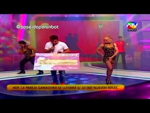 Final. Dance Of Valentina Shevchenko En Reality Show Combate. Tango. Cha Cha Cha. Peru, Lima 2013