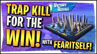 Hysteria | Fortnite | Trap Kill for the Win! - Duos with FearItSelf