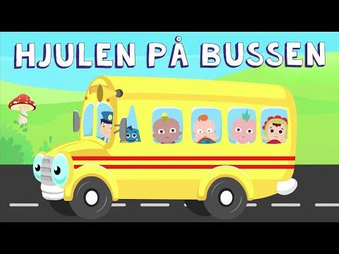 Hjulen på Bussen Snurrar Runt Runt Runt 3X | Barnsånger på Svenska | Barnmusik