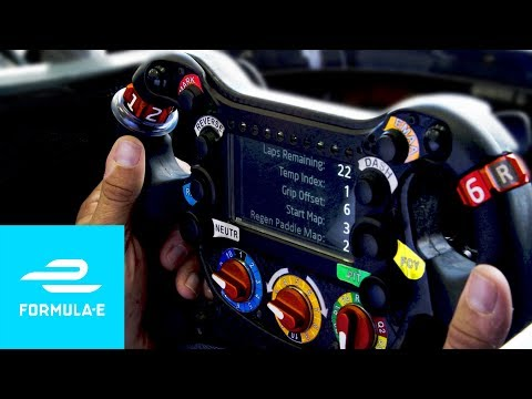 What Do The Buttons On A Formula E Steering Wheel Do?