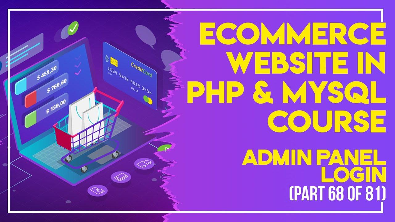 E-Commerce website in PHP & MySQL in Urdu/Hindi part 68 admin panel delete orders