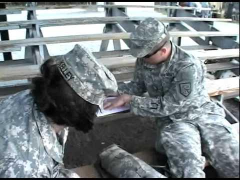 Guard MPs test endurance, combat abilities