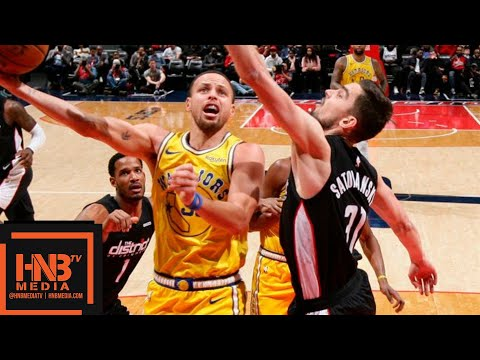 GS Warriors vs Washington Wizards Full Game Highlights | 01/24/2019 NBA Season