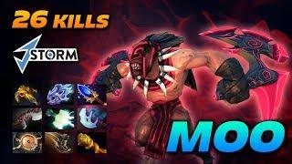 MOO 26 KILLS Bloodseeker [2 Hours Game] Dota 2 Pro Gameplay