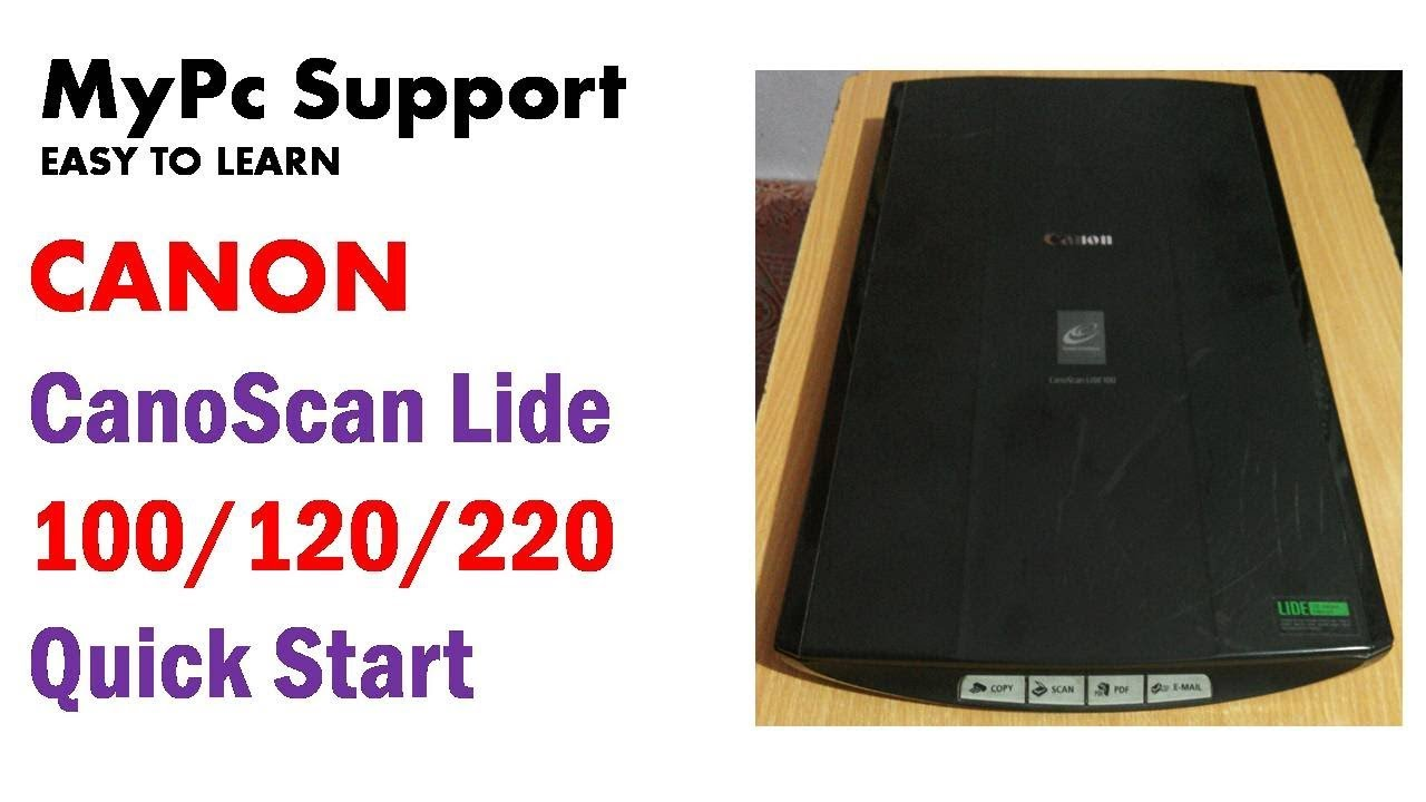Canon CanoScan Lide | Canoscan | Lide 120 | Lide 220 Scanner Software  (Hindi)