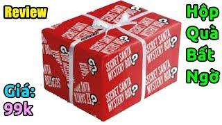 Mở hộp quà bất ngờ mua trên Lazada giá 99k