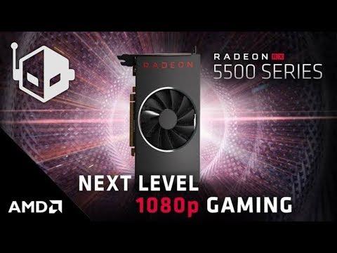 AMD Radeon RX 5500 Navi 14 GPU Custom Variants Rumored To Launch On 12th December