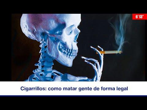 CIGARRILLOS: CÓMO MATAR GENTE DE FORMA LEGAL (6' 13'')