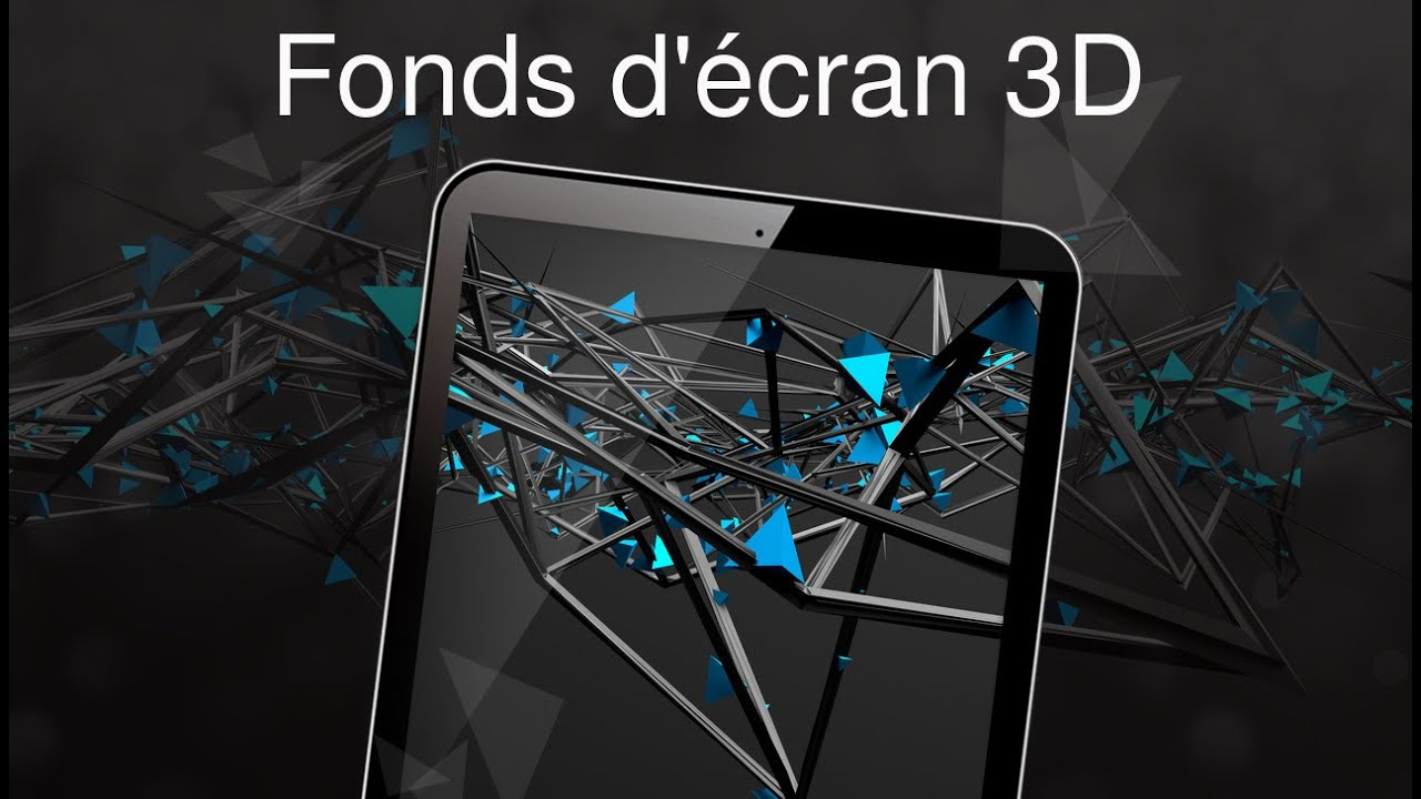Fonds D Ecran 3d 4k Youtube