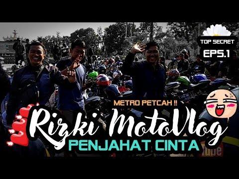 Rizki MotoVlog - PART#156 - PENJAHAT CINTA/SUNMORI METRO Eps 1