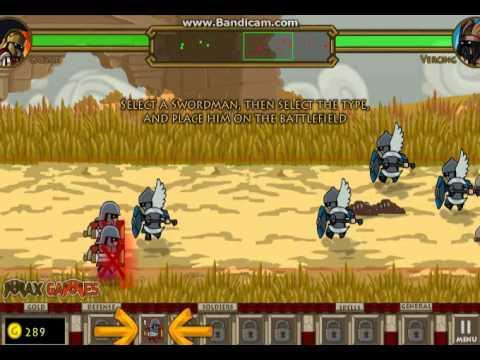 Видео флеш игры Цезарь - Siecius