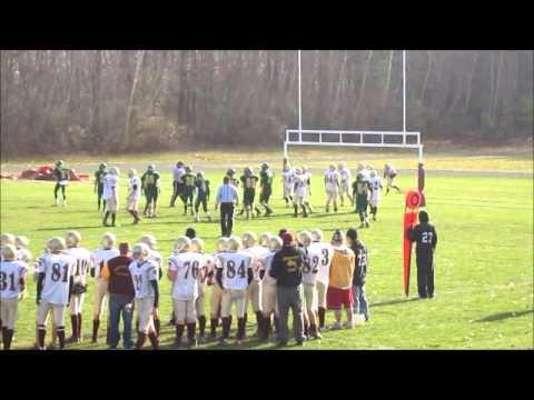 SHRHS vs Tantasqua - Dan Laroche touchdown