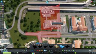 REMONT bo ciasno - Cities: Skylines Campus DLC