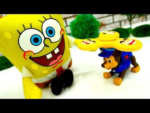 #ГубкаБоб потерял #СПИННЕР߷ Игры для детей #Игрушки и детективы Спанч Боб и Патрик Sponge Bob