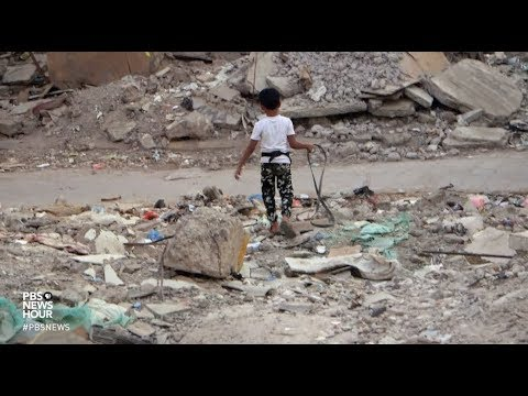 Struggling to survive in the rubble of Yemen's war
