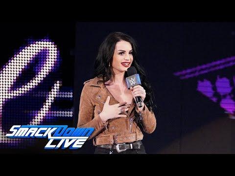 Paige introduces the team of Asuka & Kairi Sane: SmackDown LIVE, April 16, 2019