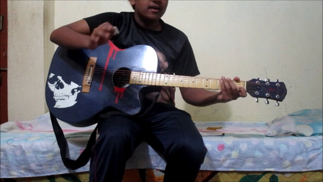 How To Play Castle Of Glass By Linkin Parkwithout Capo Youtube