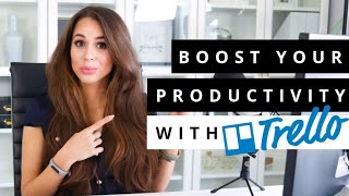 How To Use Trello To Be Super Productive In Your Business [Trello Tutorial] // Kimberly Ann Jimenez