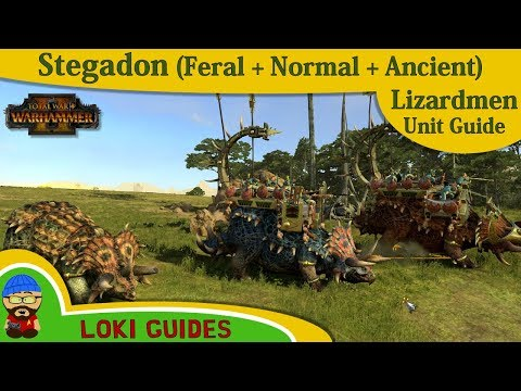 Lizardmen Unit Guide: Stegadon & Ancient & Feral Stegadon - Total War: Warhammer 2 Army Review