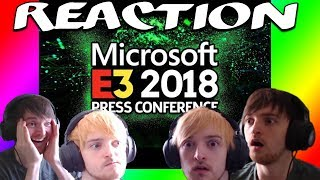 E3 - MICROSOFT Press Conference REACTION