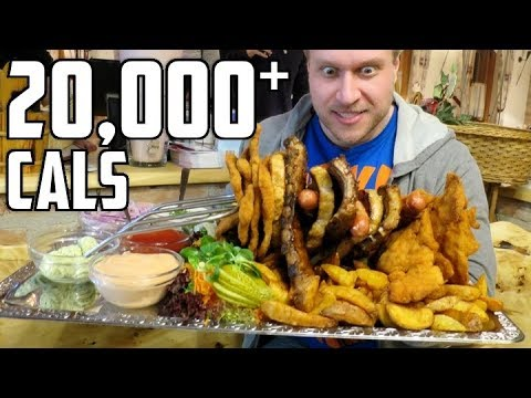 10lb (4.5kg) Food Challenge, GIANT Dumplings & More in Vienna, Austria! | Furious World Tour