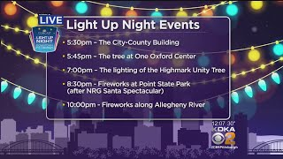 Thousands Expected To Attend Light Up Night Festivities In Downtown Pittsburgh
