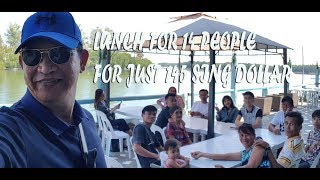 SILVERIO SEAFOOD AND RESTAURANT DAGUPAN CITY, FIRST DAY LUNCH IN THE PHILIPPINES