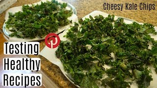 Testing Out Healthy Recipes: Cheesy Kale Chips!! Everyday Gymnastics