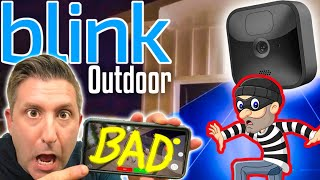 NEW BLINK OUTDOOR battery security camera | best review 2020
