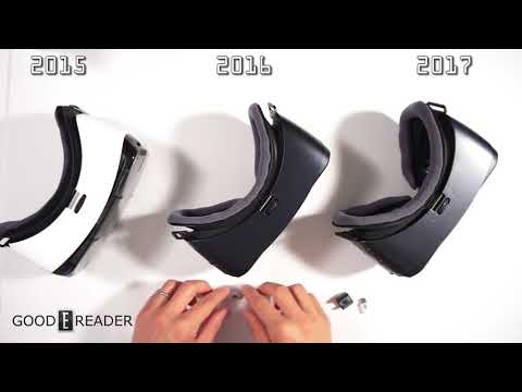 Samsung VR 2015 to 2017 Comparison
