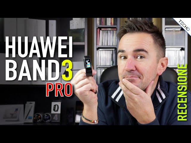 #Huawei Band 3 PRO - RECENSIONE [ITA]