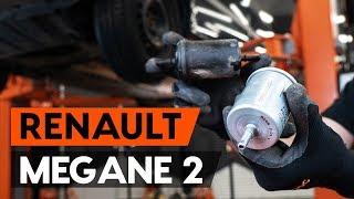 Come sostituire filtro carburante RENAULT MEGANE 2 (LM) [VIDEO TUTORIAL DI AUTODOC]