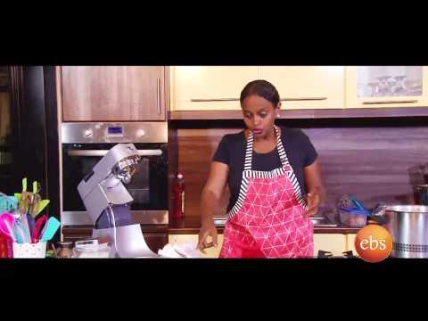Giordana's kitchen show , Easy tips  to make cake