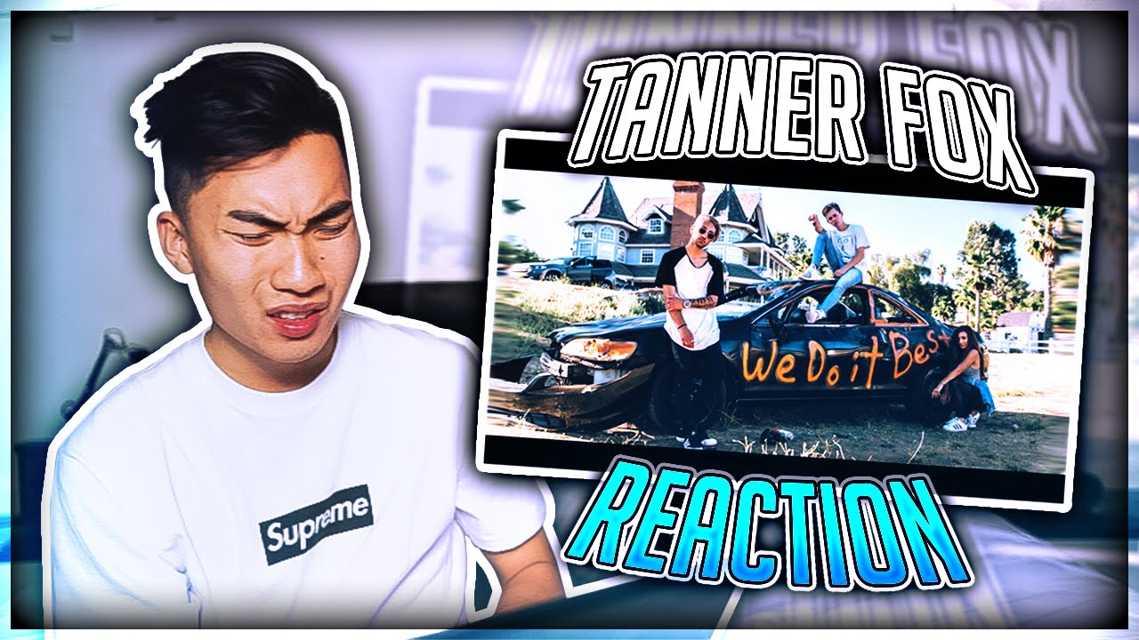 REACTING TO TANNER FOX'S NEW SONG (HE ROASTED ME) #1