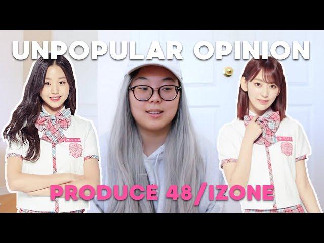 UNPOPULAR OPINION (RANT) | IZONE/PRODUCE 48 FINAL LINEUP