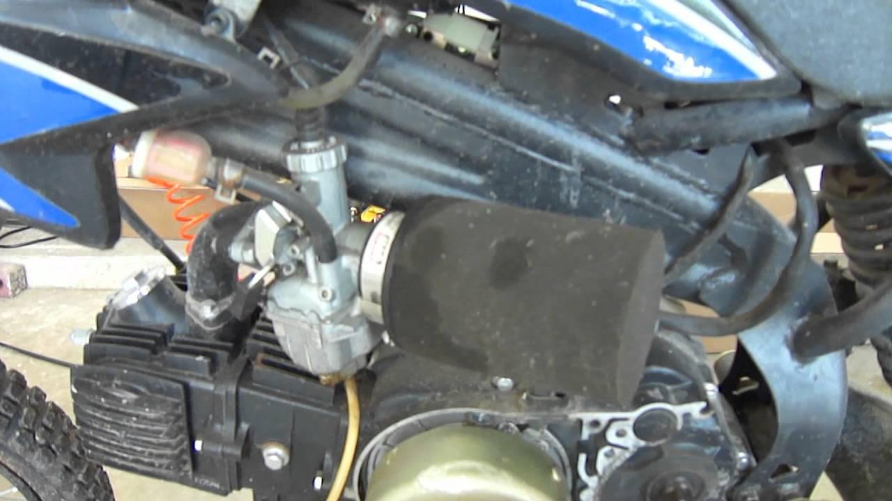 Apollo Pit Bike Complete Rebuild Part 1 Youtube Ssr 125cc Wiring Diagram