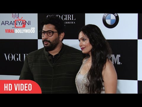 Arshad Warsi with wife Maria Goretti at Vogue Women of the Year 2017