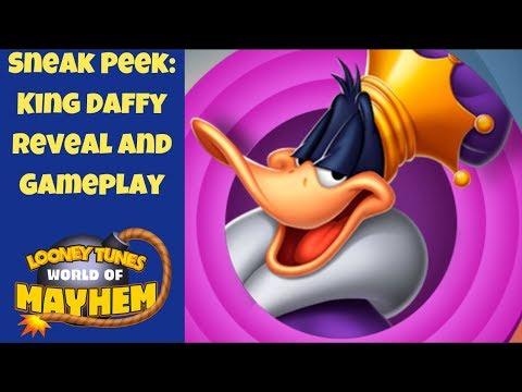 New Toon SNEAK PEEK: King Daffy Gameplay   Looney Tunes World Of Mayhem