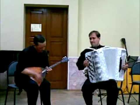 Коробейники. Аркадий Филиппов и Олег Титов