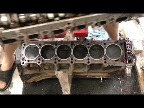 300,000Km+ Mercedes M104.980 - I Remove The Cylinder Head