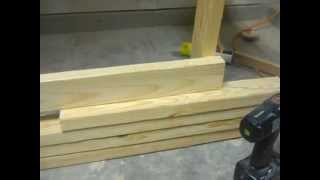 Make An Awesome Wall Mount Folding Workbench