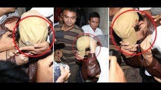 Diseret ke Penjara, Guntur Bumi (UGB) Tutupi Wajah Dengan Topi